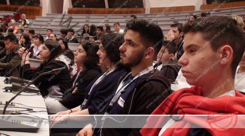 To 1ο ΕΠΑΛ Υμηττού Παπαστράτειος για δεύτερη συνεχή χρονιά στο Παγκόσμιο Συμπόσιο Νέων για την Πολιτιστική Κληρονομιά στην Αρχαία Ολυμπία
